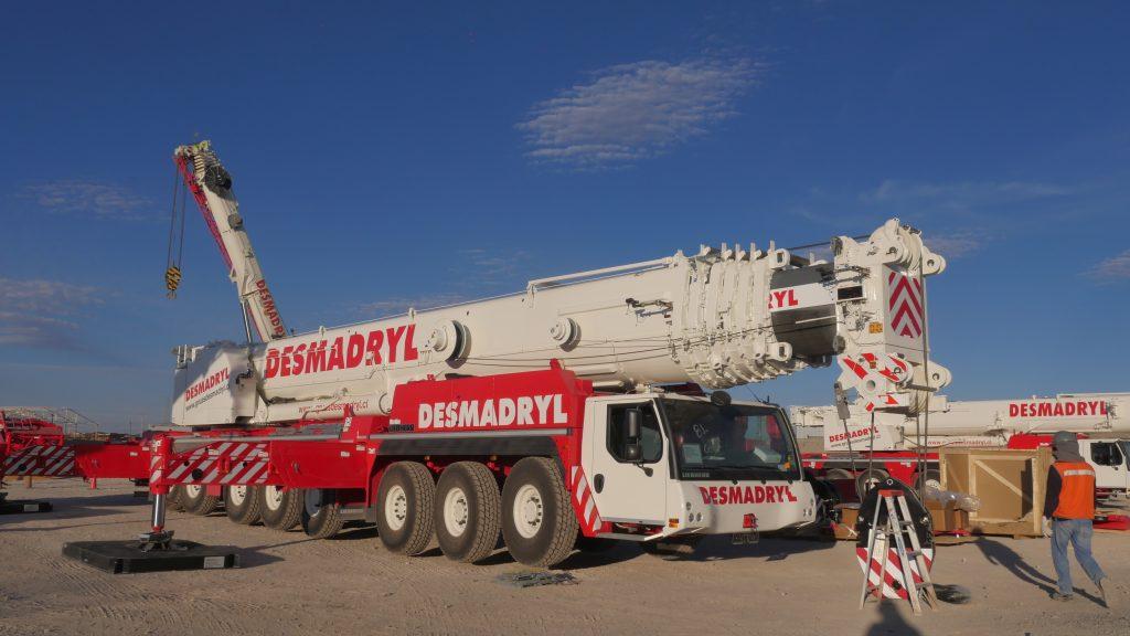 grúa 450 toneladas